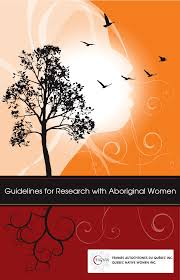 Guidelines for Research with Aboriginal Women