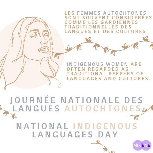 Journée nationale des langues autochtones