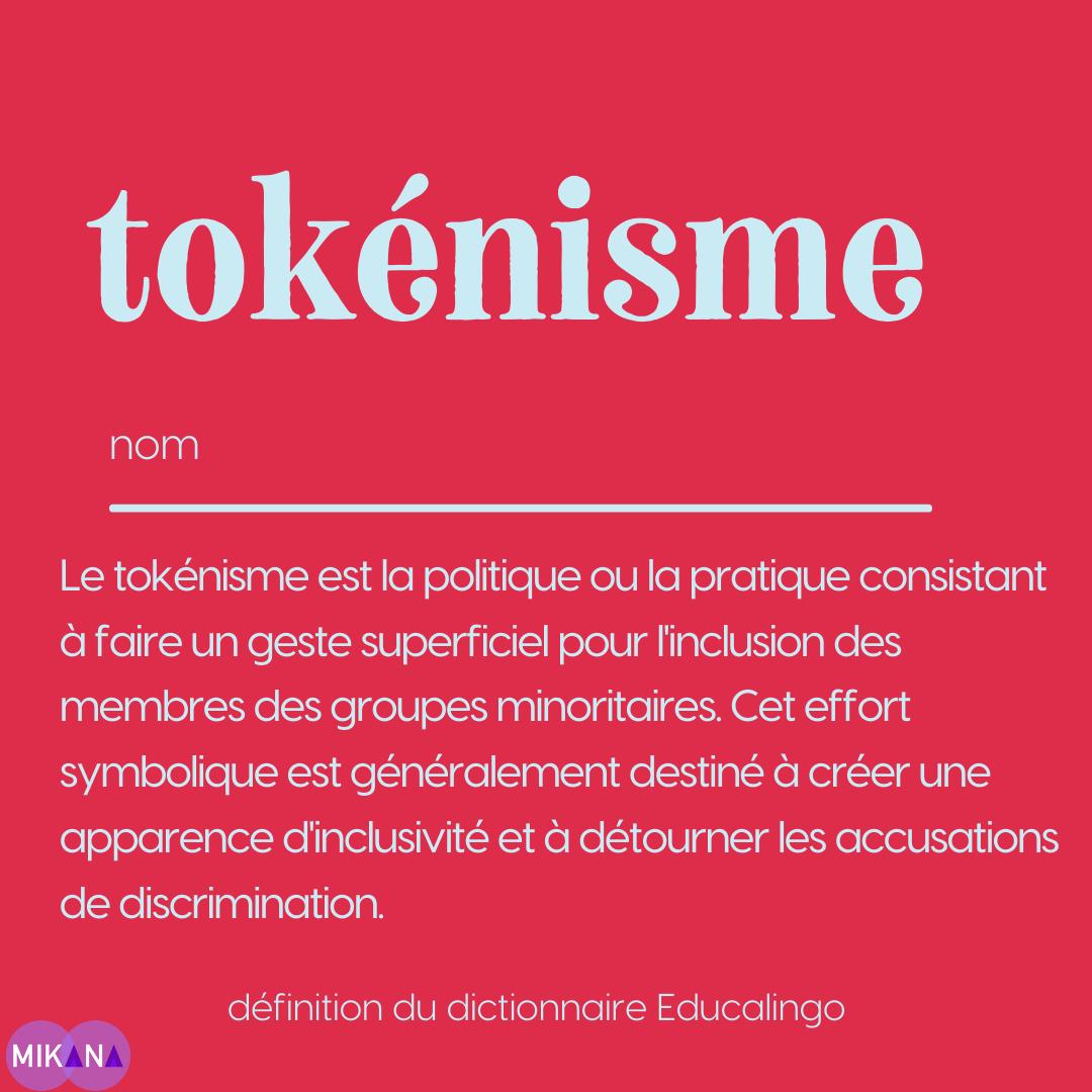 Le tokénisme