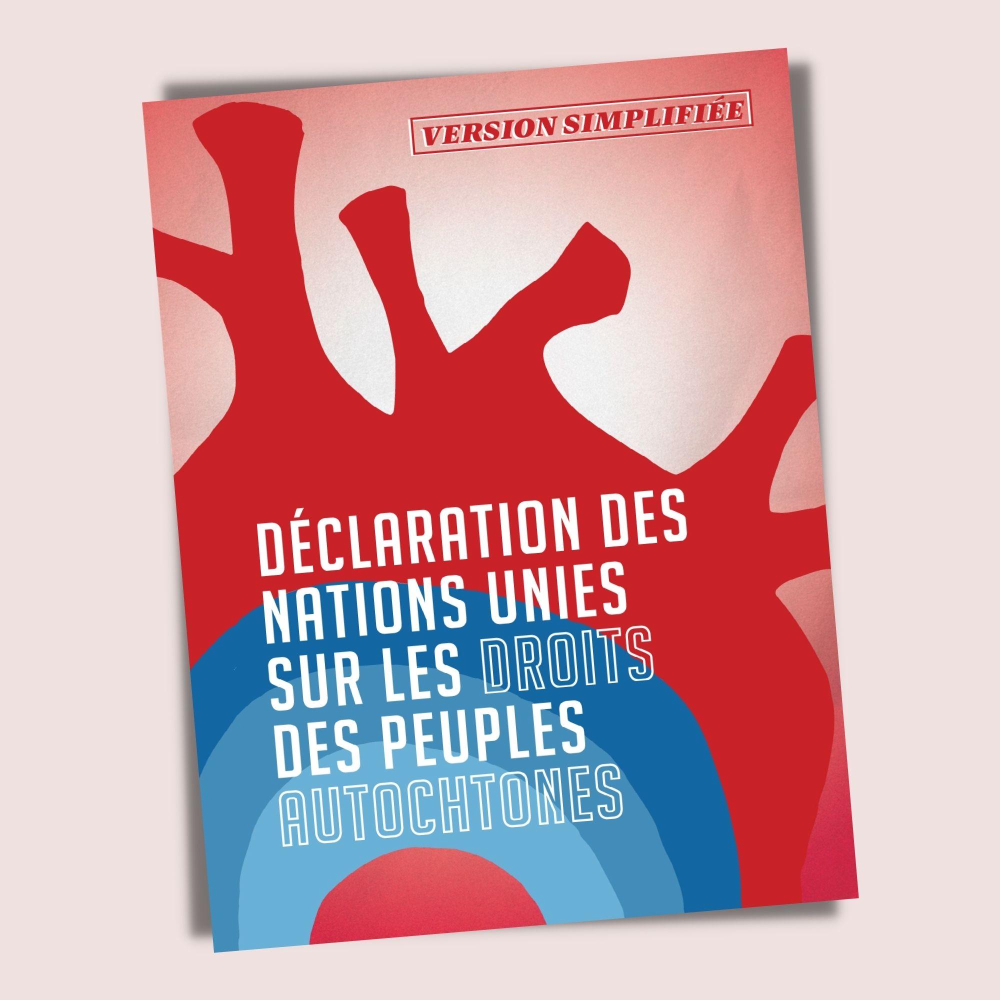 Déclaration des Nations Unies sur les droits des peuples autochtones - Version simplifiée